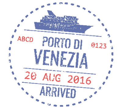 Passport stamp Venice