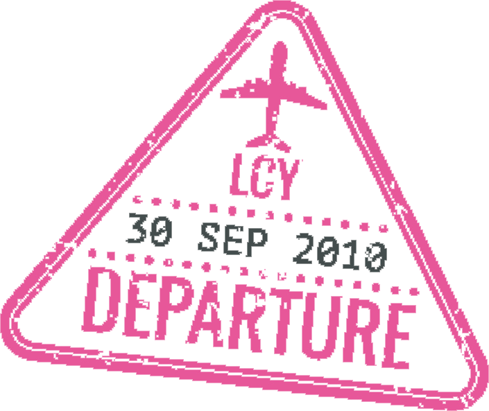 Passport stamp Departure