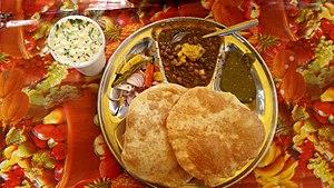 chole bhature, dehli street food