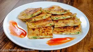 paratha, street food in Delhi