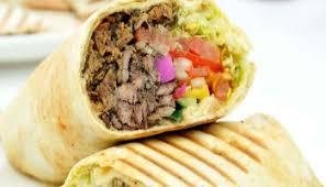 shawarma rolls, street food in Delhi