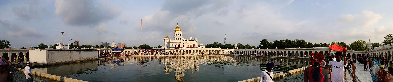 A Taste of India:  Gurudwara Bangla Sahib