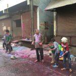 holi festival Mathura India