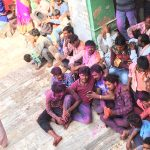 Baldeo Holi Festival taking a break
