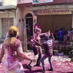 Holi Festival Dancing