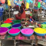 color for holi Festival in India