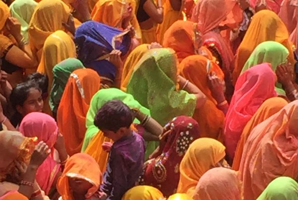 Holi Festival Baldeo India